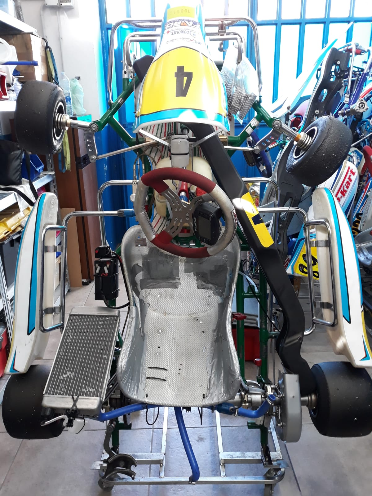 Vendo telaio Tony kart 401 - vendogo-kart it
